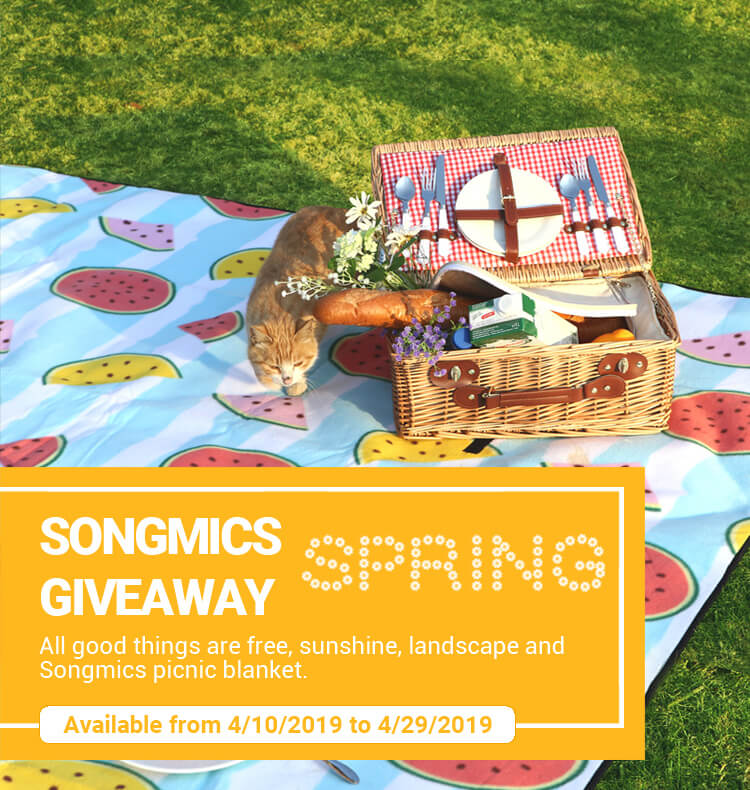 Songmics Spring Giveaway
