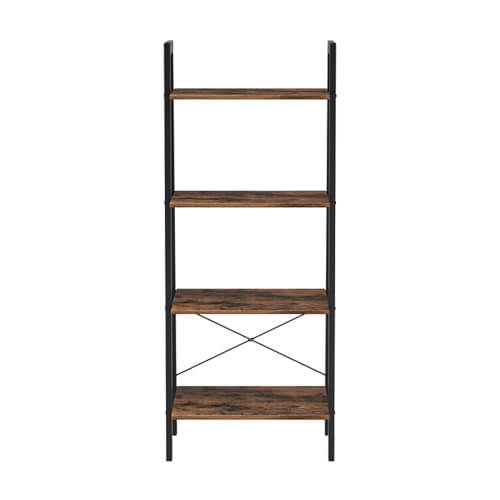 4 tiers ladder shelf ULLS44X