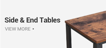 VASAGLE side and end table series